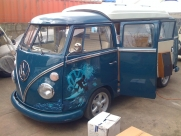 Sam Branson 21st B Day Present.. Thanks DAD - VW - Transporter / Caravelle - Classic Car Electrics - WITNEY - OXFORDSHIRE